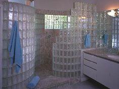 Glass Block Showers