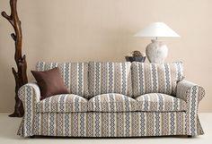 Der coole #Ethnoprint macht den #Sofabezug Mosaik zu einem echten Hingucker!