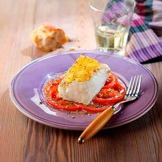 Descubre como preparar paso a paso la receta de Lomo de bacalao gratinado con alioli . Te contamos los trucos para que triunfes en la cocina con Pescados para chuparse los dedos