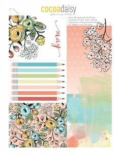 FREE 2016 May Planner Printables from Cocoa Daisy {store checkout required}
