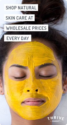 Want better products for your skin? Look no further! We've got your back with a wide selection of natural skin care products, all at 25-50% off retail. Visit Thrive Market today, and see how much you can save on acne care, eye care, facial moisturizers, and more!: