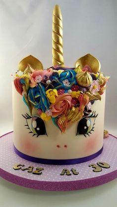 Unicorn Cake #unicorncake #ednascakeology #openeyesversionunicorncake #ponycake