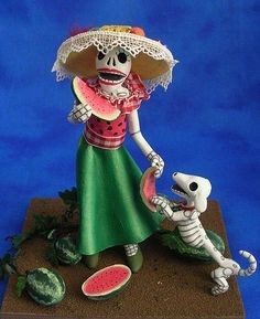 Day of the Dead on Pinterest | Sugar Skull, Skeletons and Mexican ...