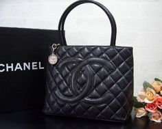 Iconic bags: Chanel Caviar Medallion Tote