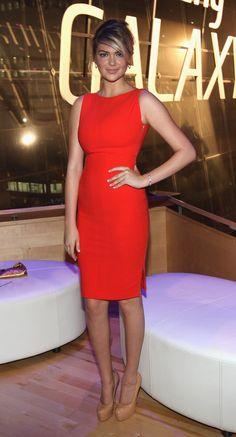 kate upton red dress