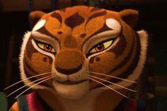 Po and Tigress Tigress Kung Fu Panda, Po And Tigress, Disney Pixar, Disney Films, Dreamworks, English Projects, Dragon Warrior, Don't Judge, Power Rangers