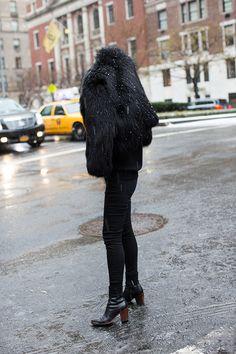 On the Street….Snow Day, New York