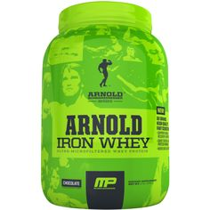 Arnold Iron Whey Protein Chocolate 2 lbs 908g at Megavitamins Online Supplement Store Australia. Arnold Iron Whey Protein Supports Muscle Recovery & Growth.Arnold Iron Whey Protein is a high-quality formula includes amino acids.
