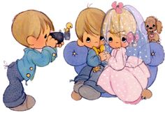 precioua moments clipart | Precious Moments Weddings Images