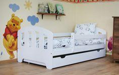 Łóżko dziecięce Fifi 160x80 z szufladą i materacem