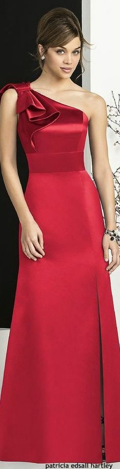 Party Dress Elegant Glamour Fashion Ideas For 2019 Elegant Dresses, Pretty Dresses, Red Fashion, Fashion Dresses, Fashion Hub, Party Fashion, Dress Outfits, Fashion Brands, Womens Fashion
