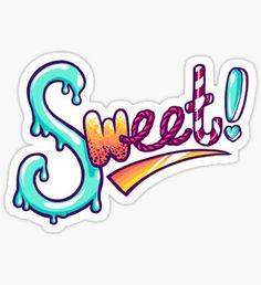 Sweet! Pegatina