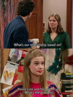 Full House Memes, Full House Funny, Full House Quotes, Movie Memes, I Movie, Ice Queen Adventure Time, Ful House, Michelle Tanner, Candace Cameron Bure