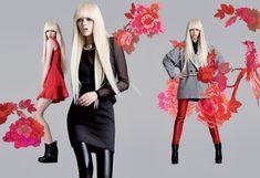 Fornarina 2013-2014 Fall Winter Ad Campaign - Autunno Inverno Moda Italy: Designer Denim Jeans Fashion: Season Collections, Runways, Lookbooks and Linesheets