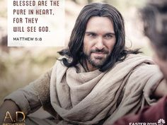 """Juan Pablo Di Pace portrays Jesus on NBC """"AD The Bible continues"""" (Showing Easter Sunday April 5th, 2015 @ 9/8c)"""