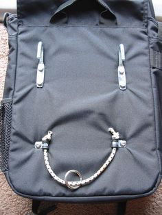 Picture of Alternative Homemade Pannier Bungees