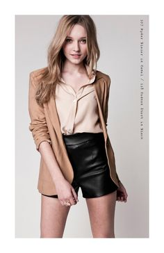 love the shorts and jacket.