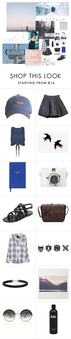 """""""everything still feels like a dream"""" by tardismia ❤ liked on Polyvore featuring Diane Von Furstenberg, Alice + Olivia, Smythson, KYMA, Rails, Topshop and Cutler and Gross"""