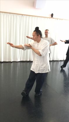 Our shifu Yuan Li Min from Wudang China at our workshop Wuxing Gong