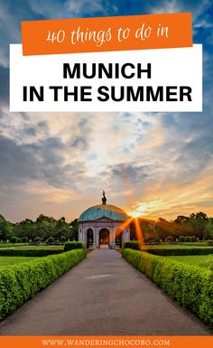 Summer in Munich: 40 Things to do in Munich to Beat the Heat - a Local's Guide! I places to go in Munich I what to do in Munich I Munich travel guide I Germany travel I visit Germany I things to do in Munich I summer travel in Germany I summer in Germany I Germany travel tips I tips for Munich travel I where to go in Munich I Germany summer tips I local travel tips I Munich travel I visit Munich I Europe travel I summer in Europe I Munich attractions I #Munich #Germany Road Trip Europe, Places In Europe, Europe Travel Guide, Europe Destinations, Travel Guides, Budget Travel, European Vacation, European Travel, Italy Vacation