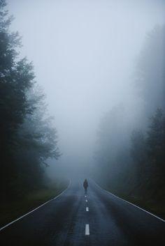 Into the Mist Art Print by Tasha Marie - X-Small Alone Photography, Scenery Photography, Dark Photography, Landscape Photography, Marshmello Wallpapers, Dark Landscape, Night Aesthetic, Aesthetic Dark, Dark Places