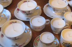 how to make teacup soy candles!!!!!!!
