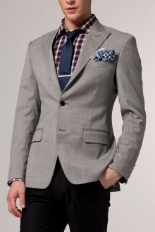 The Essential Light Gray Blazer