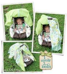 Whimsy Lane Crafts Preparing For Baby Car Seat Canopy  sc 1 st  Pinterest & closet crafter: car seat canopy with peek-a-boo tutorial ~What you ...