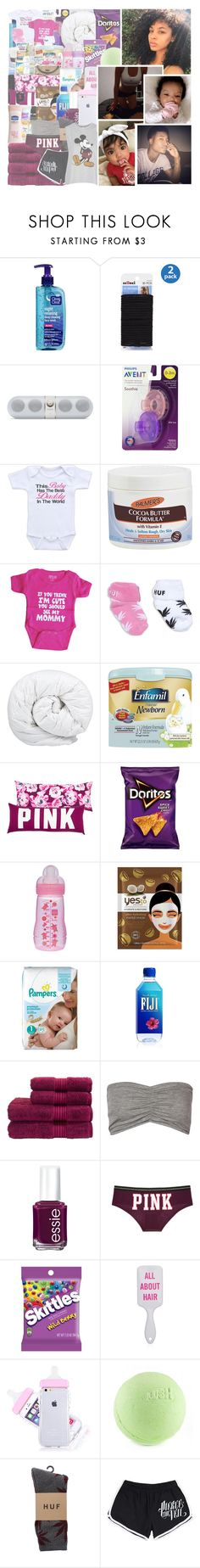 """""""💕😇🔐💍"""" by calif0rnia-nx ❤ liked on Polyvore featuring scunci, Palmer's, Brinkhaus, Yes To, Christy, Boohoo, Essie, Victoria's Secret, HUF and Topshop"""