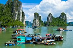 "For The Ultimate Vacation: Vietnam In last season's Parts Unknown, Bourdain called Vietnam ""my first love as far as travel destinations, a place that changed my life when I first went there."" So, if you want a single country for an all-in-one trip, Vietnam is it. ""It's a perfect mix of food, people, scenery, beaches, everything,"" he says. And, yes, there is a lot more than pho."