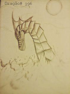 dragão do lago ness , minha criação. minha página no facebook: https://www.facebook.com/Umdragaopordia