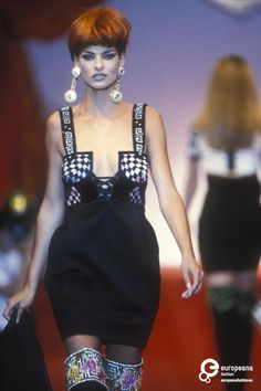 Gianni Versace, Autumn-Winter 1991, Couture