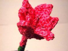 Pink Watsonia Crochet Flower Pattern
