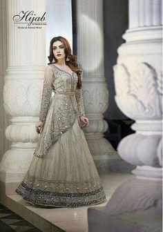 Party Wear Indian Dresses, Designer Party Wear Dresses, Indian Fashion Dresses, Wedding Dresses For Girls, Indian Gowns, Indian Designer Outfits, Designer Wear, Dulhan Dress, Half Saree Designs