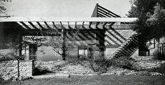 Thompson House (1947) | Marcel Breuer | Source: North Carolina Modernist Houses