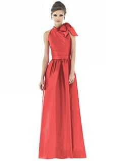 Alfred Sung Style D535 http://www.dessy.com/dresses/bridesmaid/d535/ I am in love with this dress and this color