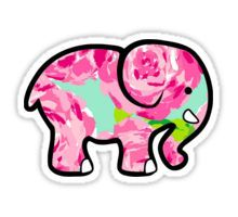 Ivory Ella stickers featuring millions of original designs created by independent artists. Preppy Stickers, Cute Stickers, Ivory Ella Stickers, Wallpaper Stickers, Aesthetic Phone Case, Laptop Stickers, Cute Baby Animals, Sticker Design, Lilly Pulitzer