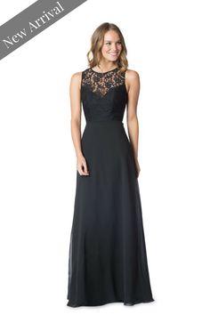af15ebbabc2 Great lace bridesmaid dress - with open back. Bari Jay Bridesmaid Dress So  romantic!