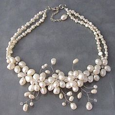 @Overstock - This striking necklace is the perfect way to add interest to your wardrobe. This necklace is handmade with pearls and crystal beads and features a beautiful flower detail. http://www.overstock.com/Worldstock-Fair-Trade/Sakura-Pearl-Flower-Necklace-Thailand/5098865/product.html?CID=214117 INR              4067.00