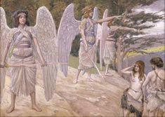File:James Jacques Joseph Tissot - Adam and Eve Driven From Paradise - Google Art Project.jpg
