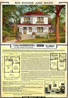 Americus - Sears Roebuck House Plan