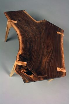 Live Edge Coffee Table - massive wooden table