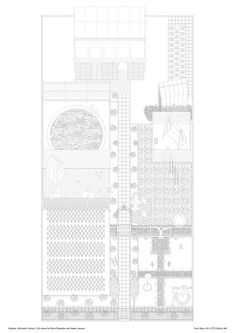 Studio Tom Emerson, Allotment Garden, drawn by Mario Bisquolm and Fabian Lauener, 2011