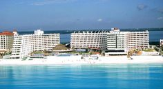 Crown Paradise Club Cancun All Inclusive Resort. Beautiful All Inclusive Hotel in Cancun minutes away from the Cancun Airport with a great beach area. #CancunAllinclusiveResorts #Cancun #Hotels #Travel #Mexico