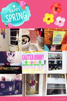 All my Easter Decorating in my home 2015!  (M.T.E) #easterdecorating #diy #diyeasterdecor #apartmenteasterdecorating #apartmentdecor #craftsbymorganMTE