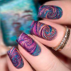 Examples Of Beautiful Long Nails To Inspire You – Long Nails – Long Nail Art Designs Long Nail Designs, Cute Nail Designs, Creative Nail Designs, Trendy Nail Art, Stylish Nails, Ongles Funky, Urban Nails, Uñas Fashion, Luxury Nails