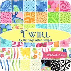 Twirl Fat Quarter Bundle Me & My Sister Designs for Moda Fabrics - Fat Quarter Shop