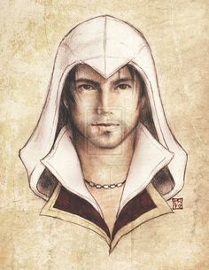 Ezio Auditore by *psyduck-mcgee on deviantART
