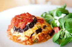 Erikas LCHF till vardag och fest: Vegetarisk lasagne (LCHF)