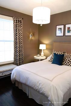 Mocha Latte by Behr Ultra - Paint Colors I've Used - Great resource for paint colors in real rooms